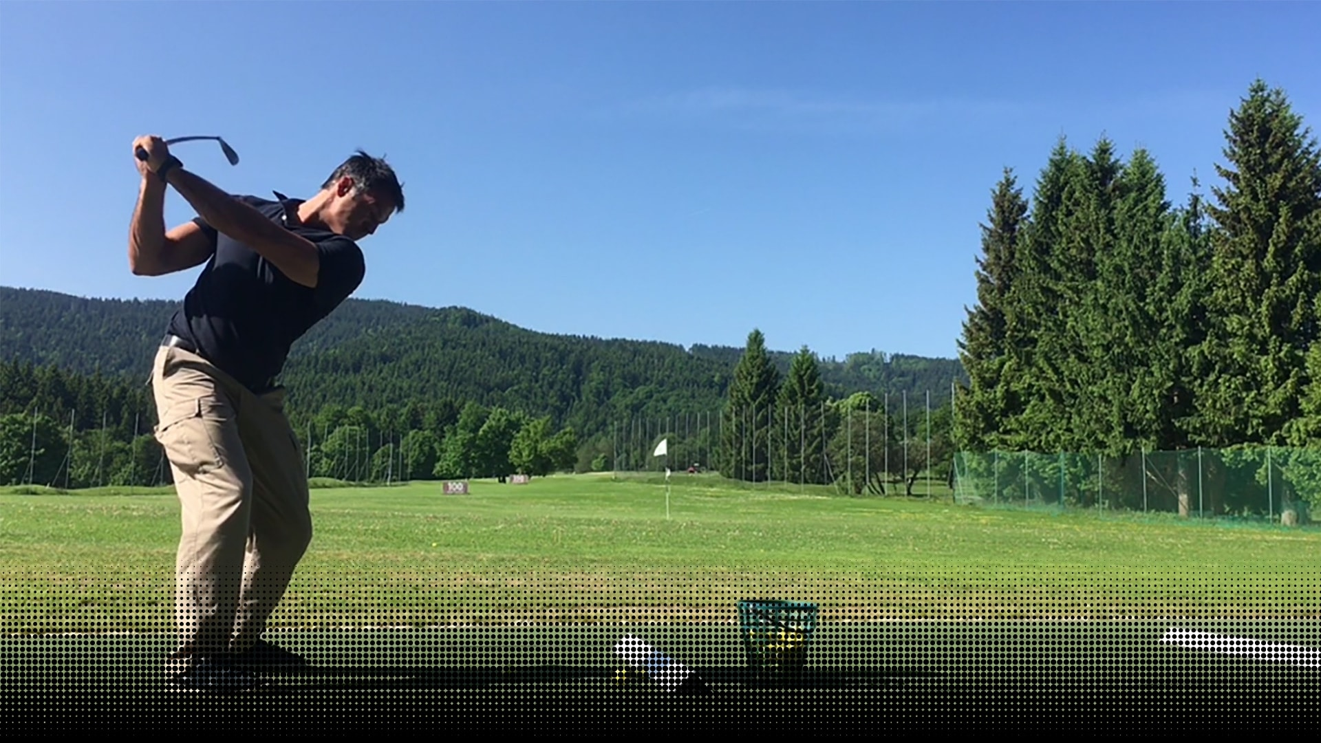 Specific training for golf